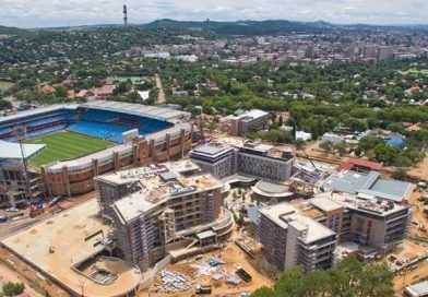 Phase 1 roof-wetting of Redefine and Abland's R1billion-plus Loftus Park mixed-use development